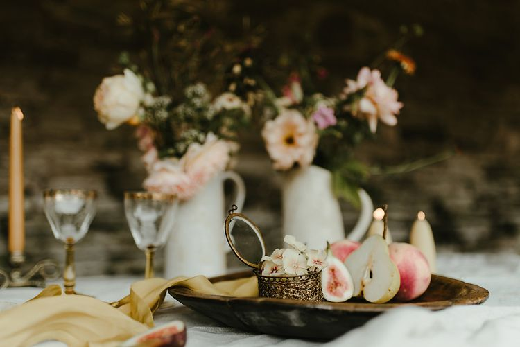 Broadfield Court Romantic Wedding Venue Styled By Kate Cullen Fine Art Bridal Style Images By Georgina Harrison Photography