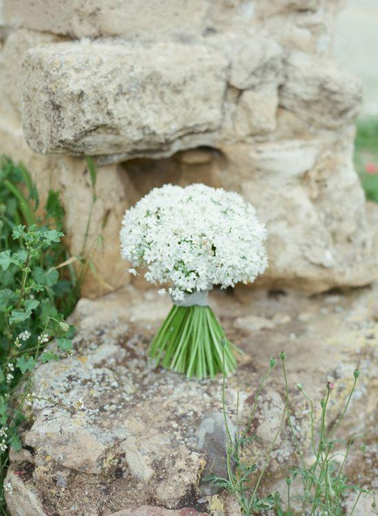 Pure White Wedding Bouquet