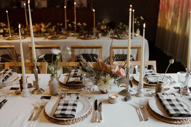 A City Picnic Inspired Table Scape For Wedding Styled By Knot And Pop // Image By The Curries