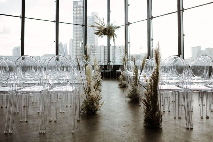 Rooftop Ceremony Room At Ace Hotel Shoreditch // Image By The Curries