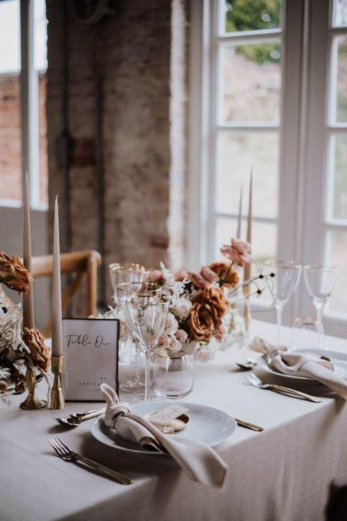 Elegant table styling By Chenai wedding planner