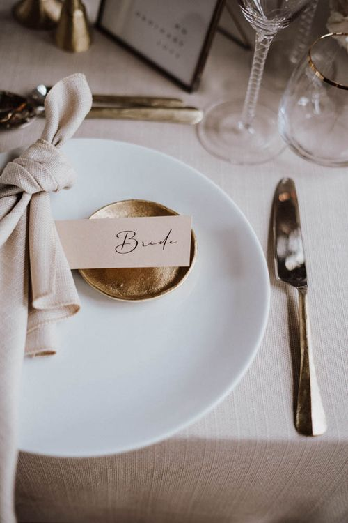 Elegant name place card by EYI Loves