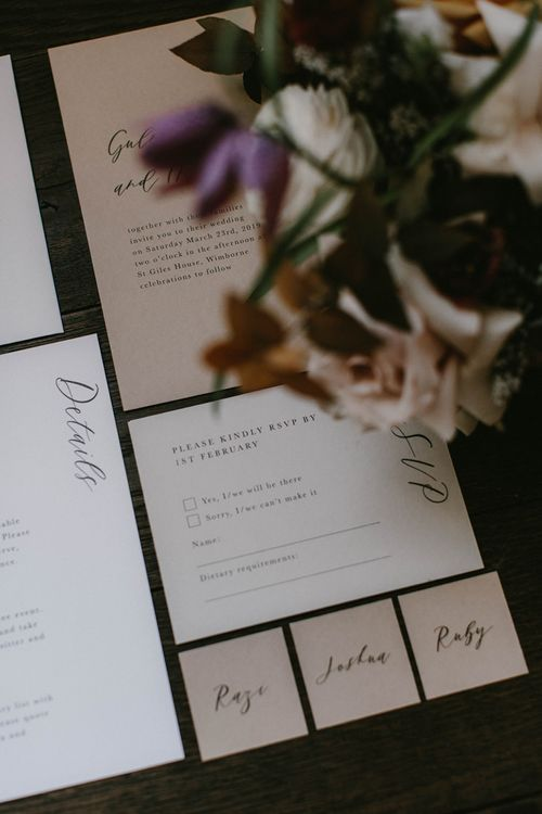 RSVP Wedding Invitation Card by Sincerely May