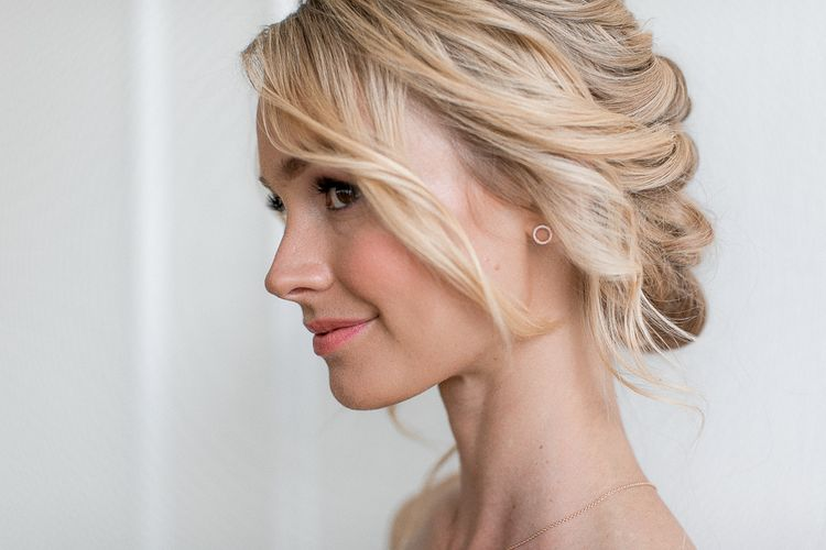 Soft, loose and romantic updo