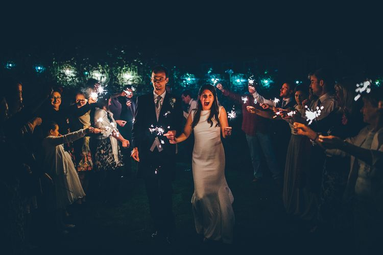 Elegant And Classic Marquee Wedding With Music And Vinyl Theme At Shilstone House Devon With Images From Toby Lowe Photography