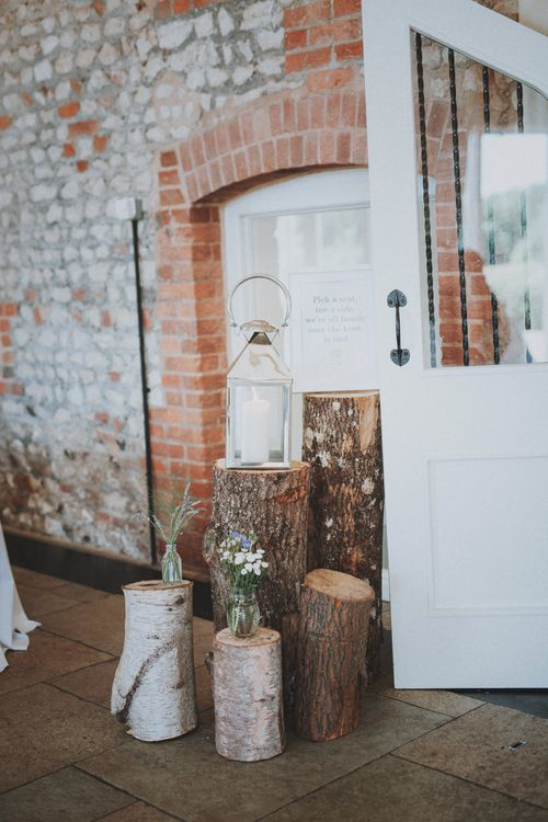 Rustic Wedding at Farbridge West Sussex with Styling by Fairly Vintage   Meghan Lorna Photography