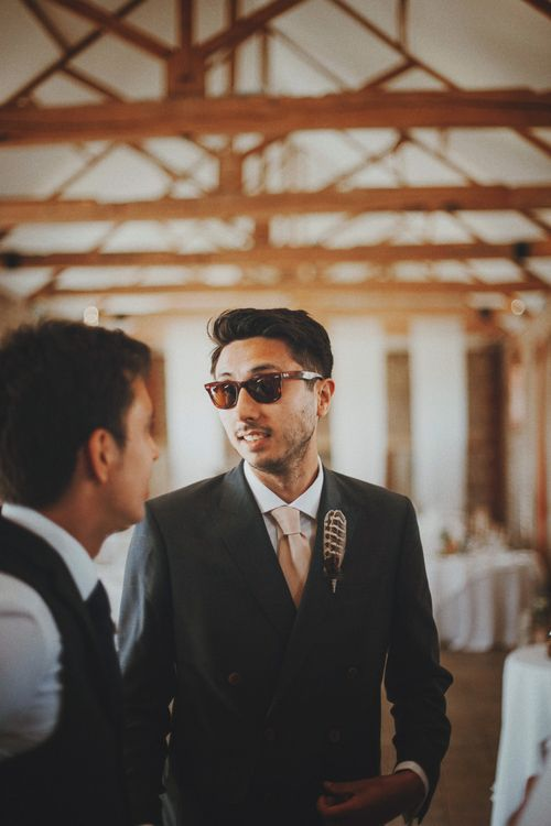 Groomsmen   Rustic Wedding at Farbridge West Sussex with Styling by Fairly Vintage   Meghan Lorna Photography
