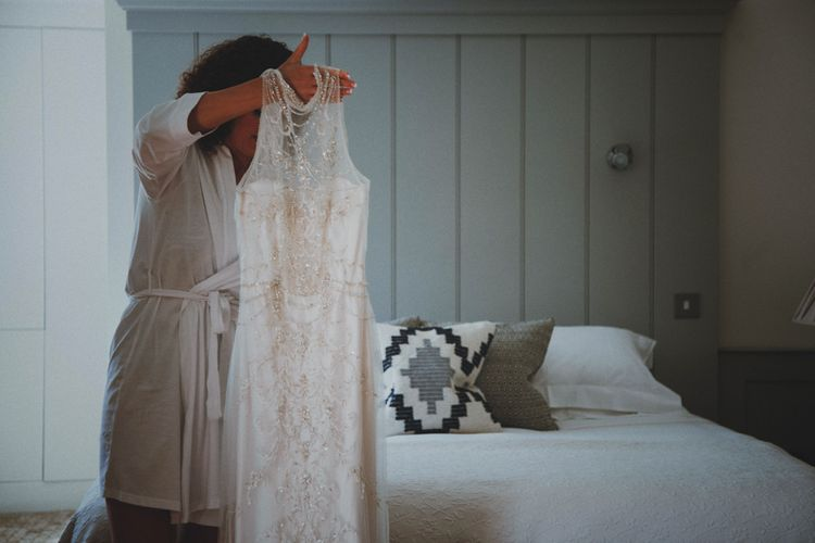 Sottero & Midgley Wedding Dress   Rustic Wedding at Farbridge West Sussex with Styling by Fairly Vintage   Meghan Lorna Photography