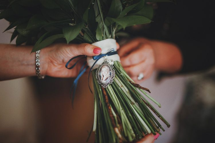 Bouquet Brooch   Sottero & Midgley Wedding Dress   Rustic Wedding at Farbridge West Sussex with Styling by Fairly Vintage   Meghan Lorna Photography