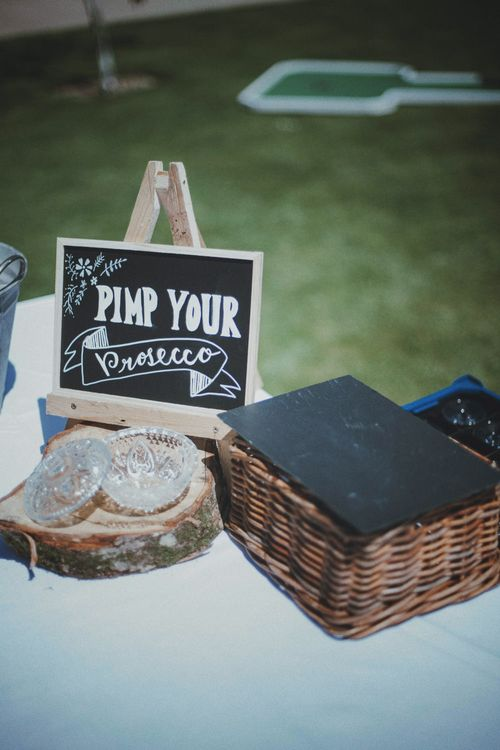 Pimp Your Prosecco   Rustic Wedding at Farbridge West Sussex with Styling by Fairly Vintage   Meghan Lorna Photography