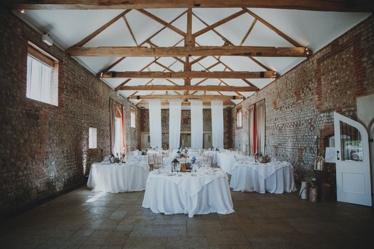 Wedding Reception   Rustic Wedding at Farbridge West Sussex with Styling by Fairly Vintage   Meghan Lorna Photography
