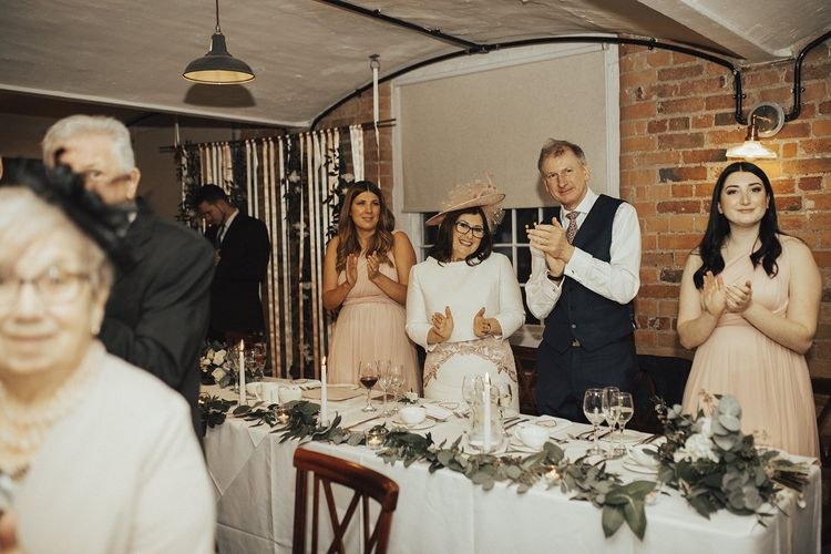 Top Table Wedding Party Guests