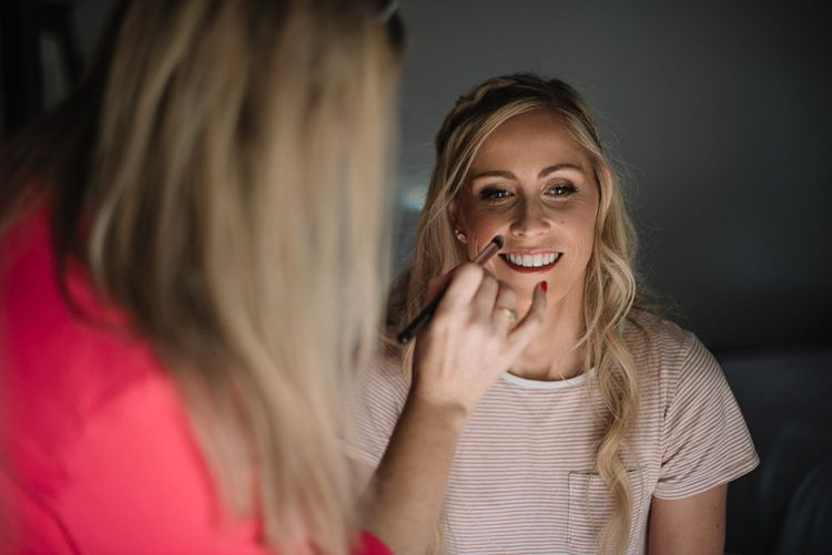 Bridal beauty and makeup for wedding in Ireland