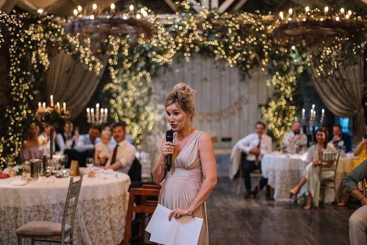 Bridesmaid wedding speeches