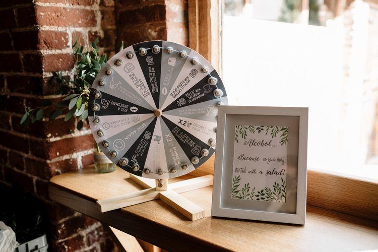 DIY Wedding Decor | Intimate Greenery Wedding at Packington Moore Rustic Wedding Venue | Amy Faith Photography | Floodgate Films