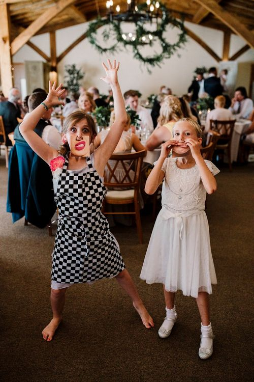 Wedding Guests | Intimate Greenery Wedding at Packington Moore Rustic Wedding Venue | Amy Faith Photography | Floodgate Films