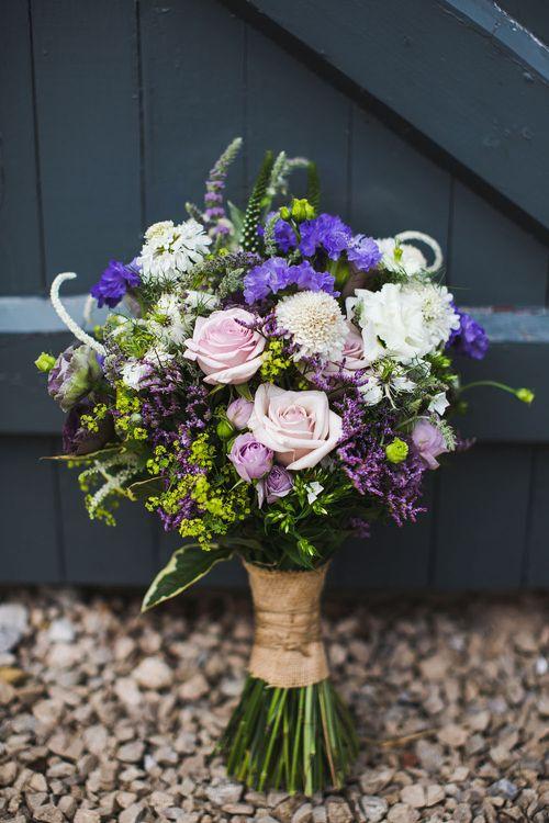 Flowers. Ceremony at Haddon Hall, Derbyshire
