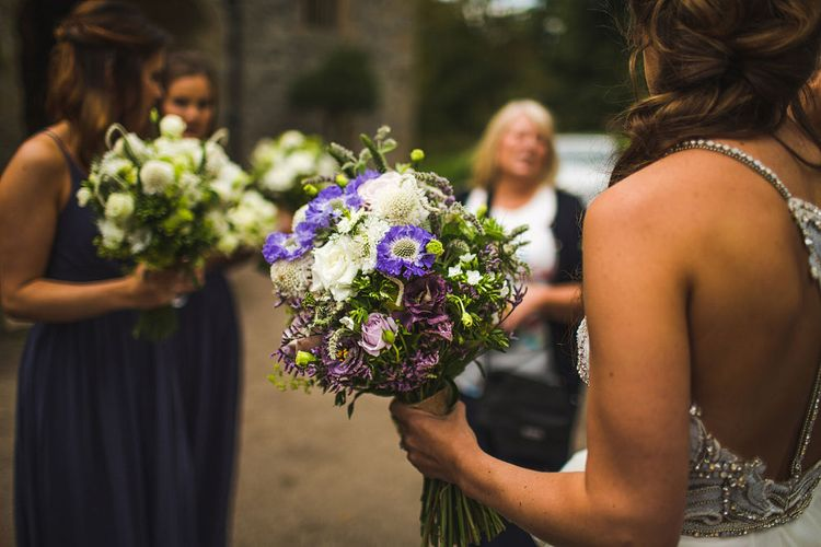 Flowers. A Bank Holiday Extravaganza. Ceremony at Haddon Hall, Derbyshire