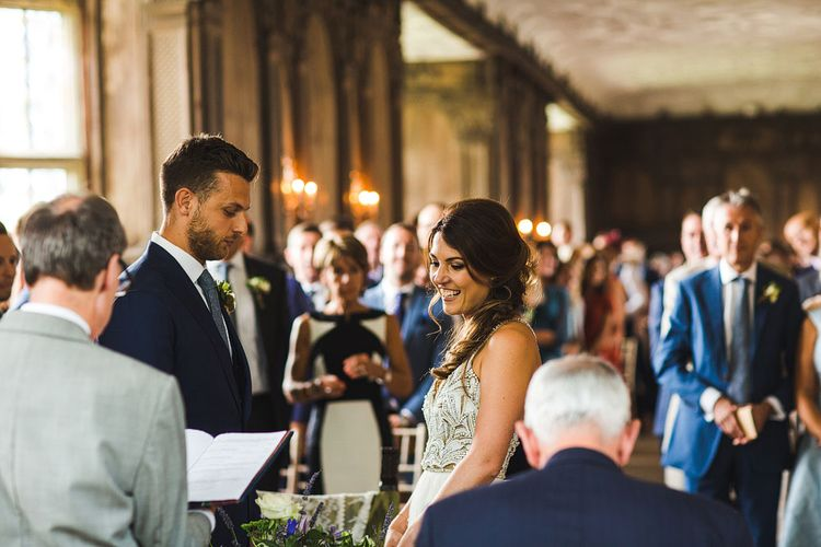 Ceremony at Haddon Hall, Derbyshire