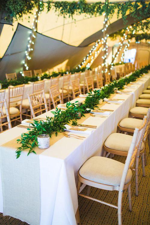Table decor. Tipi by Peaktipis. Reception at Shiningford Farm.