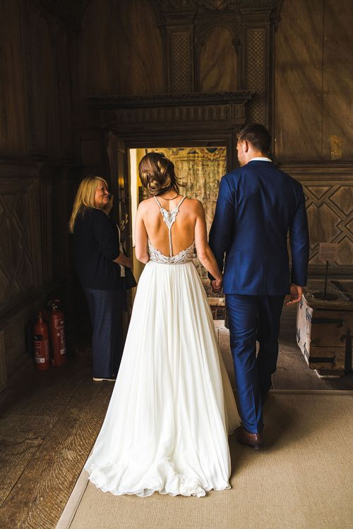 Hayley Paige Dress. A Bank Holiday Extravaganza. Ceremony at Haddon Hall, Derbyshire