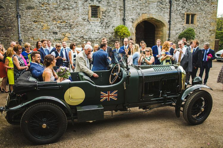 Transport. Ceremony at Haddon Hall, Derbyshire