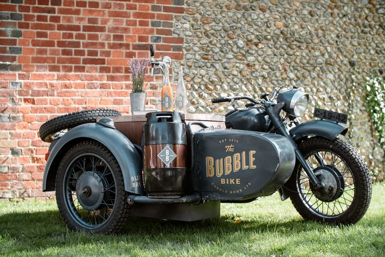 Bubble Bros Prosecco Bike