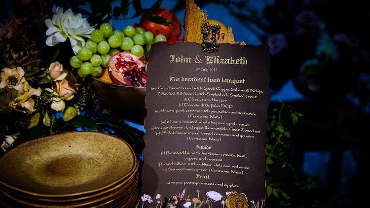 Wedding Feast Example by Italian Supper Club
