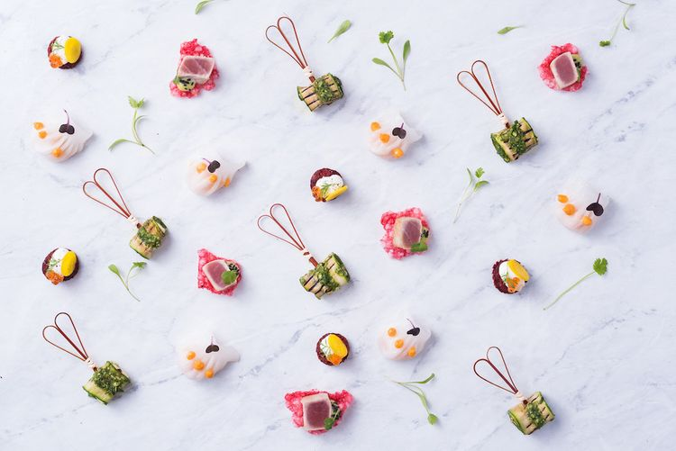 Wedding Canape Ideas by Pure Indulgence Catering