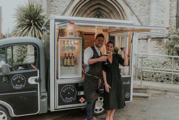 Wedding Espresso Martinis by Ruttle & Rowe
