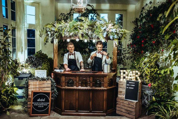 Portable Wedding Bar by The Dawdling Duck