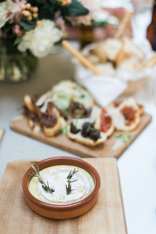 Baked Cheese Wedding Catering by Kemp and Kemp Catering