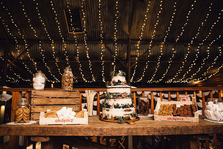 Wedding Desert Table by The Little Pickle Image by Samuel Docker Photography