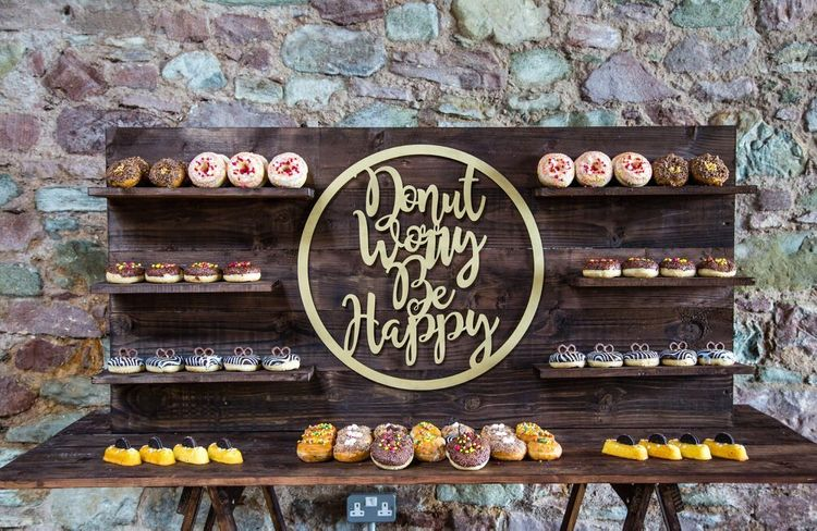 Donut Wall by Bespoke Catering & Events