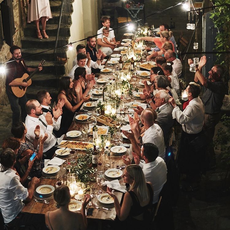 Italian Wedding with catering by Cerinella Catering