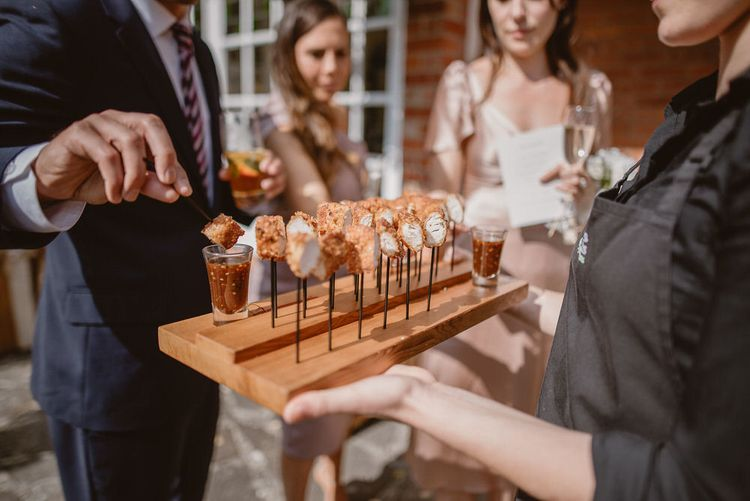 Wedding Canape Ideas by Fingers and Forks