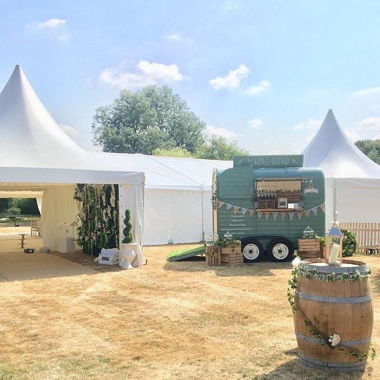 The Kings Head Horsebox Portable Wedding Bar