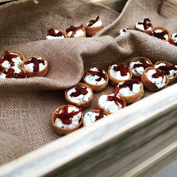 Wedding Canapes by Total Hospitality