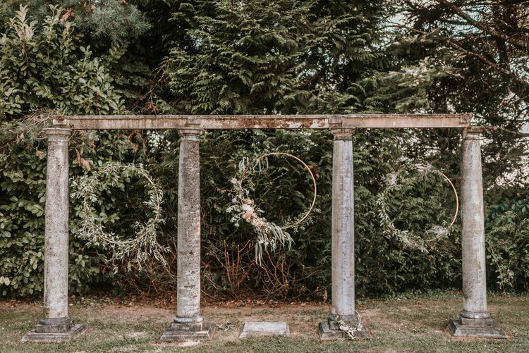 Wedding Hoop Installation Image by Alice Cunliffe Photography