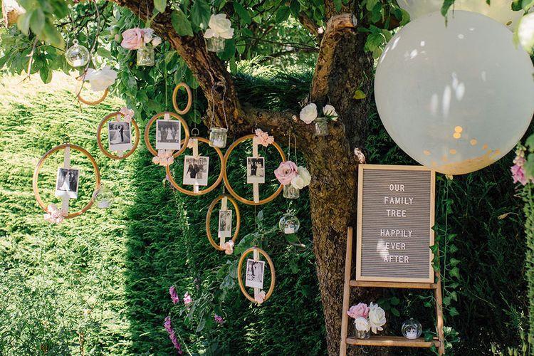 DIY Wedding Tree