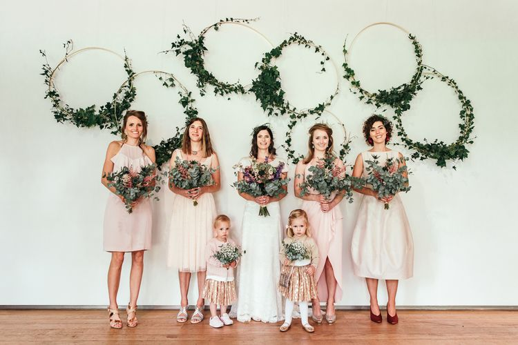 Wedding Hoop Backdrop Image by Joasis Photography