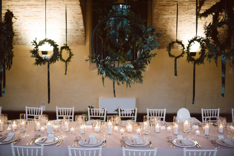Hanging Floral Hoops by Olivia Brusca Florist Image by Margherita Calati Photography