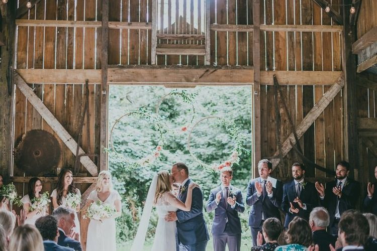 Wedding Hoop Decor Image by Ross Talling Photography
