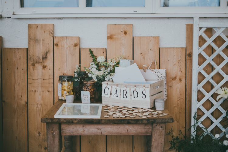 Wedding Decor Card Box // Image By Ross Talling Photography