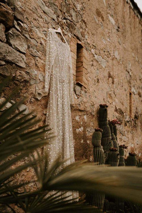 Chosen by One Day Nala Gold Sequin Wedding Dress