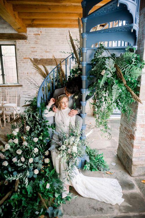 Winter Wedding Inspiration at Dorfold Hall