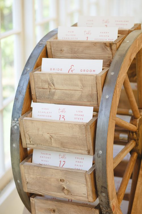 Wooden Turning Table Plan From Made By Wood & Wood For A Helaina Storey Wedding // Image By Claire Graham Photography