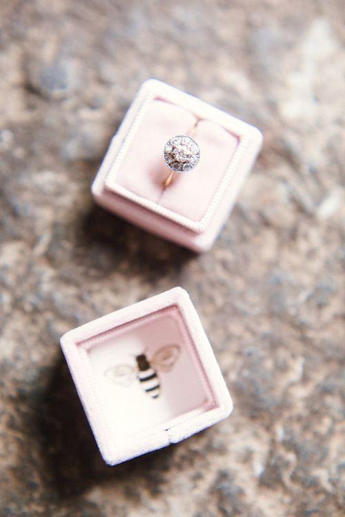 Diamond Ring and Ring Box