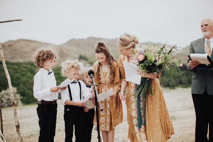 Wedding Reading Read by Children