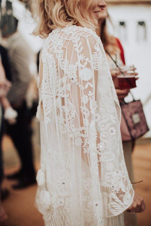 Lace Rue de Seine Wedding Dress